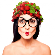 Aardbeien eten gezond Anthocyaninen