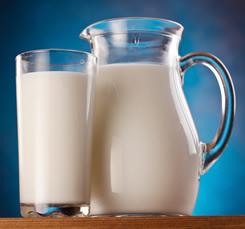 Eiwitrijk eten - melk