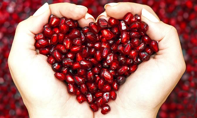 granaatappelpitjes gezond
