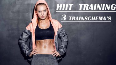HIIT workout training schema