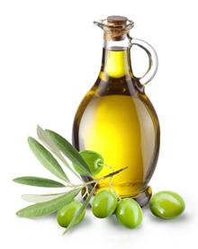 Voeding voor ontsteking Olijfolie