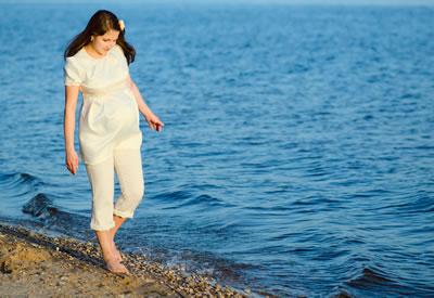 Zwangerschapsmisselijkheid - wandelen - gezond10