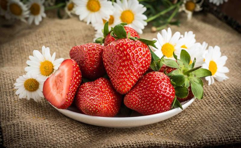 aardbeien gezond - waar zijn aardbeien goed voor