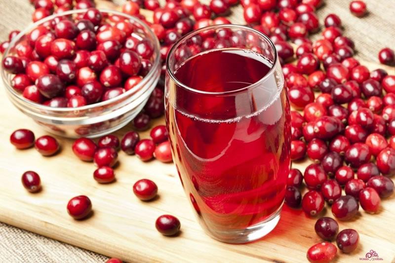 cranberrysap maken recept