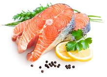 vis zalm - eiwitrijke voeding